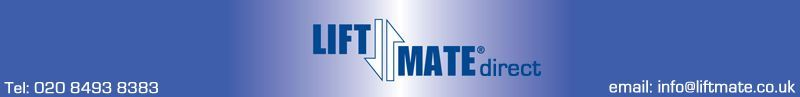 LiftMateDirect - Tel: 020 8493 8383. Email: info@liftmate.co.uk