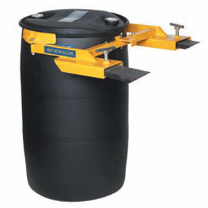 Automatic Fork Mounted Plastic Drum Clamp<br>Model: WRDG50