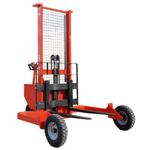 Electric Rough Terrain Pallet Stacker<br/>Capacity: 1200kg<br/>Model: RTS 12.16