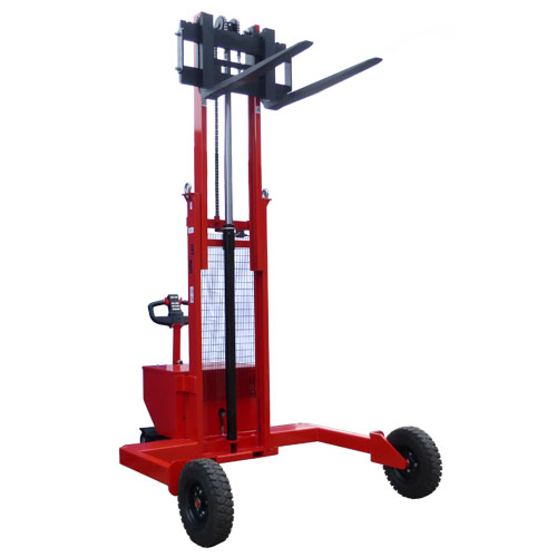 Electric Rough Terrain Pallet Stacker<br/>Capacity: 1200kg<br/>Model: RTS 12.25