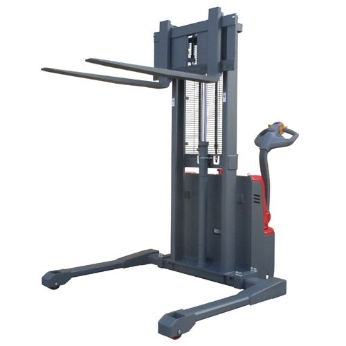 Fully Powered Straddle Stackers <br />Capacity: 1000kg <br />Model: LESS10.16/LESS10.33