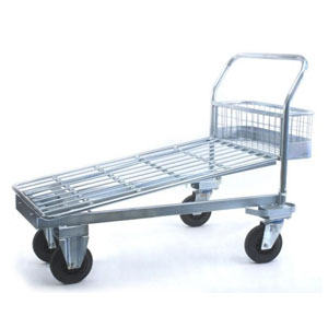 Galvanised Cash and Carry Trolley<br>Model: 540G/CF/CC/500
