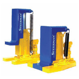 Machine Toe Jacks with Lifting Claw<br>Capacity: 3000kg to 10000kg<br>Models: HTJ-3 to HTJ-10