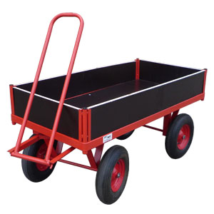 Phenolic Trailer with Removable Sides<br>Capacity: 1000kg<br>Model: T1000/1575RS