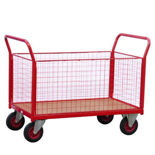 Platform Trolley with Removable Mesh Sides<br/>Capacity: 700kg<br/>Model: 550/RH/TH700CH