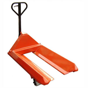 Reel Carrying Pallet Truck with Bevelled Forks<br>Capacity: 2300kg-3000kg<br>Model: LLT23BF