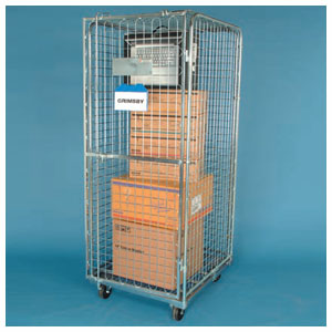 Security Demountable Roll Containers <br>Capacity: 500kg <br>Models: 17.570 & 17.490