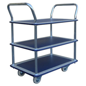 Three Tier Service Trolley<br />Model: 507/KI/SERV/3